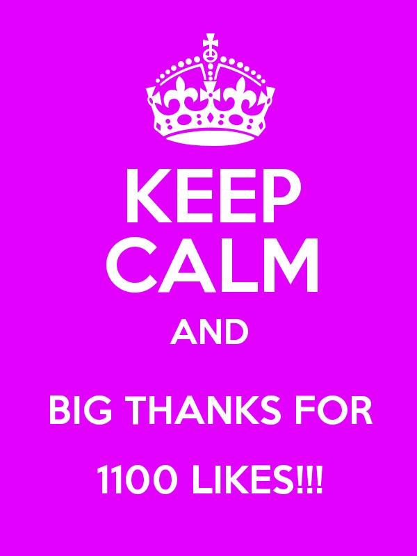 1100  Likes FB