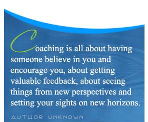 Coaching is